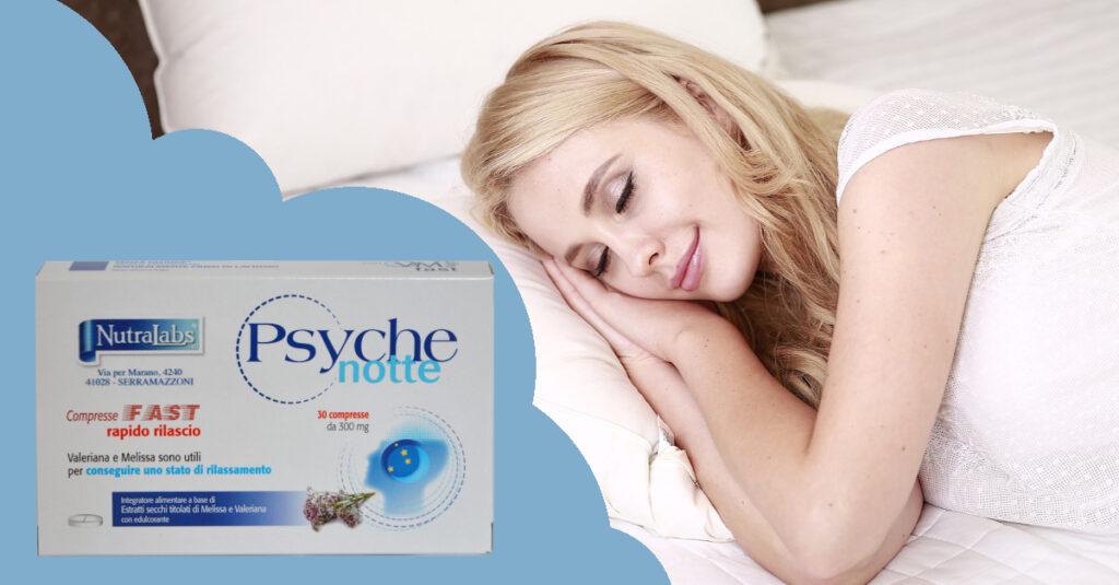riposare meglio psyche notte