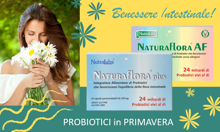 Naturaflora plus probiotici in primavera